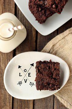 Grain-Free Double Chocolate Brownies {Gluten-Free, Dairy-Free, Paleo-Friendly}  // Tasty Yummies