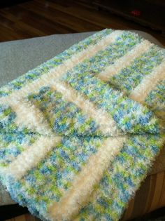 Extra Soft Infant Afghan $50.00  shoprachelbydesign.blogspot.com