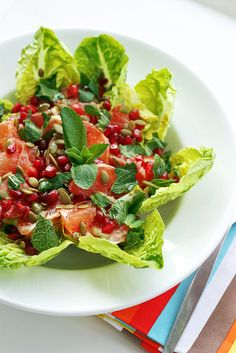 Grapefruit & Pomegranate Salad