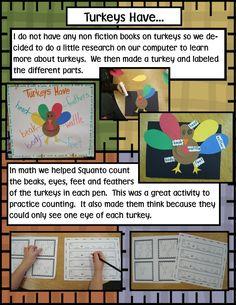 gang kindergarten, november, golden gang, classroomthanksgiv, fall