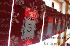Our favorite family tradition . . .25 Days of Christmas Kindness.  Free printables to start your own classroom or family tradition.