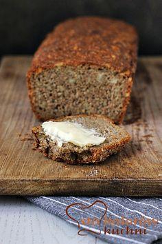 Chleb żytni razowy ze słonecznikiem