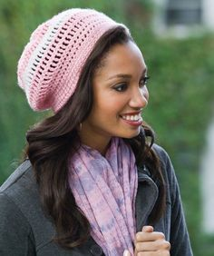 Crocheted Casual Beret
