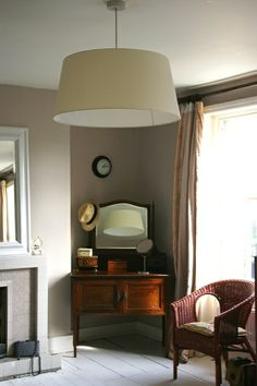 Elephant's Breath paint gets VERY mixed reviews from shocked home-owners who haven't realised that this paint has a mind of its own! Full details on Modern Country Style blog: Colour Study: Farrow and Ball Elephant's Breath ball eleph