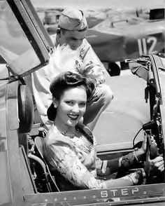 "Linda Darnell Wearing Victory Rolls. ""While ""victory rolls"" were originally the name for a fighter plane maneuver, women adopted the term for the rolls of hair to celebrate victory in WWII."""