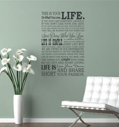 28x42 This is your life Do what you love by willowcreeksigns, $75.00