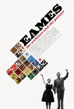 """Movie poster for """"Eames, The Architect and the Painter"""""""