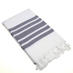 A Turkish bath towel takes versatile to a new level--trying using yours as a beach blanket, throw, or wrap. | $47
