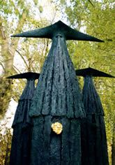 lasakphilip jackson, sentinel, sculptur modern, 3d art