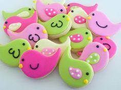 Easter bird/chick cookies