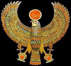 Tutankhamun Falcon Amulet
