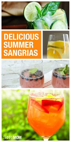 It's happy hour at your house and you have to try one of these low-cal sangria recipes!