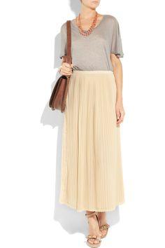 Long flowy skirt (Sandro)
