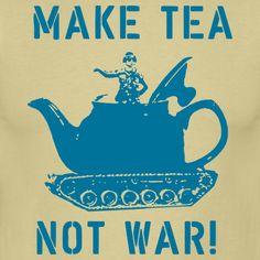 Make tea! (#fairtrade tea!)