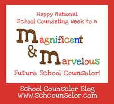 counselor's week