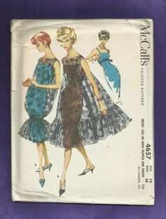 1958 McCall's 4657 Ultra Fitted Wiggle Dress and by MrsWooster, $100.00