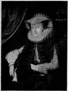 A portrait of Mary Sidney-Herbert, Countess of Pembroke, circa 1614.