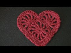 Crochet Geek - Crochet Heart Felicity corazón calado