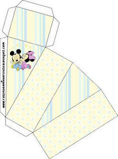 Cajitas para imprimir gratis de Bebés Disney.