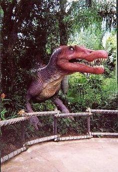 Spinosaurus photo op