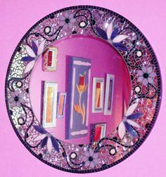 ESPEJO DE DISEÑO CON MOSAICOS   http://facebook.com/ArttemabbCULAR.