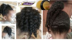 pictures of a ponytail twist out