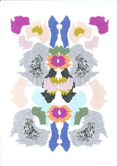 Pretty much all of her stuff is amazing! From here: http://www.etsy.com/listing/73406105/ikat-oz-print-a3