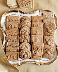 Speculaas Cookies - Martha Stewart Recipes