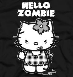 Hello Zombie T-Shirt « Daily T-Shirts