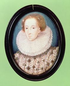 Miniature of Queen Elizabeth I, Nicholas Hilliard