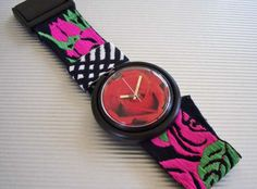 Pop Swatch Rose. #watches #style #flowers