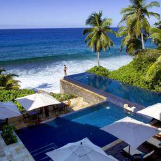 swimming pools, ocean views, tree, dream, resort, beach, hotel, place, seychell