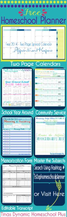My Free 7 Step Homeschool Planner Update