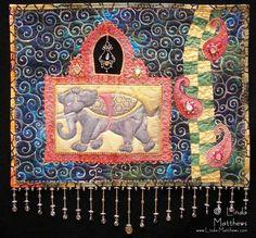 Journey Art Quilt