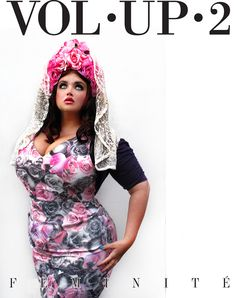 Our FEMININITY issue is out!!!  www.volup2.com Here you see Georgina Horne modeling Courtney Mina's flowercrown shot by Velvet d'Amour  LIKE US  http://www.facebook.com/Volup2