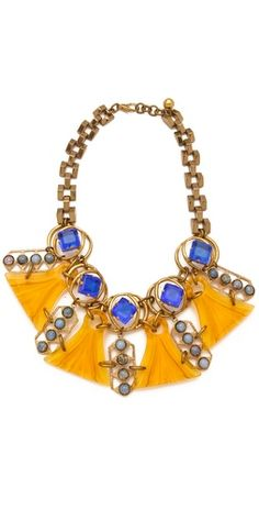 Lulu Frost Gaea Collage Necklace