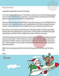 ~Santa Claus Letter #3