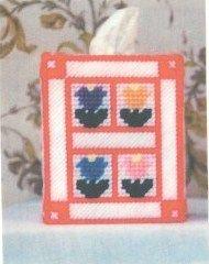 free pattern, window frame, flower