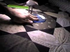 Quilting Motif and Feather Ring - I may get my rulers out again!