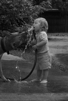 share, anim, drink, children, babi, dog, friend, photographi, kid