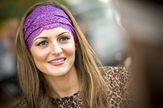 Plum Lacy from Bolder Band Headbands