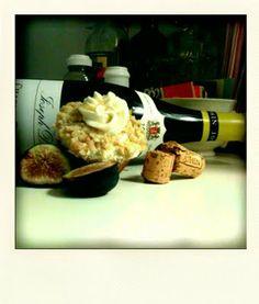 fig cupcak, walnut