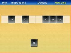 Number line app.  A great FREE app that is easy to differentiate!