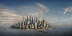 I love this mashup of the world's skyscrapers in 1 place.  This is from the Financial Times.