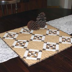 Petite Friendship Stars Quilt by PetiteQuilts on Etsy, $54.00