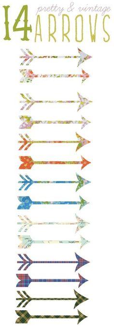 arrows!