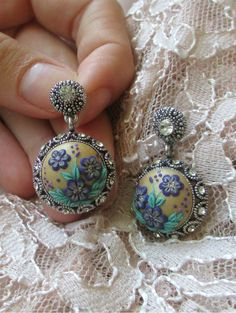 Hey, I found this really awesome Etsy listing at https://www.etsy.com/listing/207819164/antique-silver-stud-earrings-vintage
