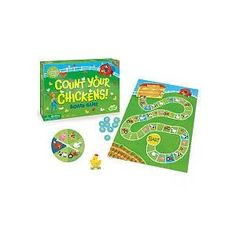 Peaceable Kingdom / Count Your Chickens Cooperative Board Game
