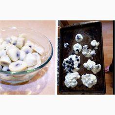 frozen yogurtcov, health snacks, yogurt cover, food, cover blueberri, blueberri bite, blueberries, honey, yogurtcov blueberri