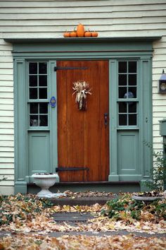 the doors, pumpkin, hous window, old windows, front doors, front porch doorway, front door colors, autumn door, wood doors